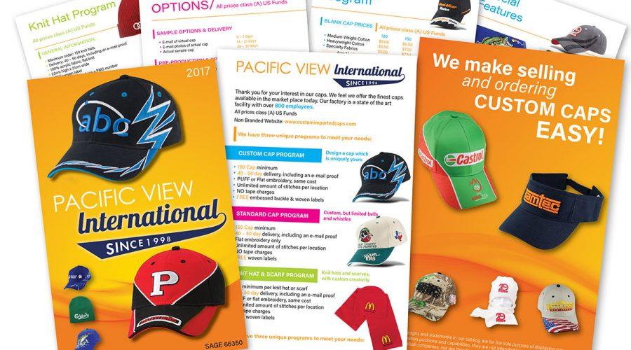 PVI Caps 20 Page Brochure Design