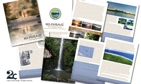 History Booklet Design - Non profit - travel booklet